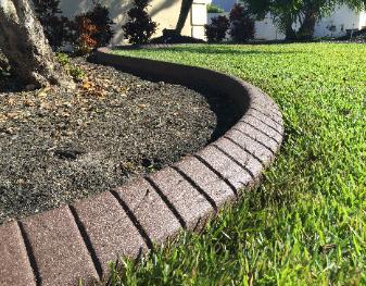 Tampa Curbing Landscape Borders Concrete Edging Decorative